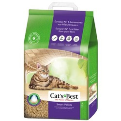 Cat`s Best Smart Pellets - древесный комкующийся наполнитель для длинношерстных кошек
