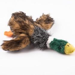 Smartpet Игрушка для собак Утка плюшевая с крыльями и пищалкой