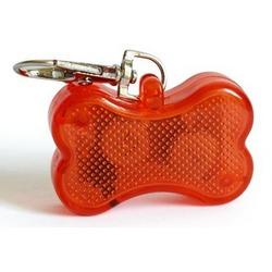 Smartpet Мигающий брелок-адресник для собак Косточка