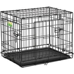 """MidWest Клетка для собак и кошек Contour с двумя дверьми 24"""""""