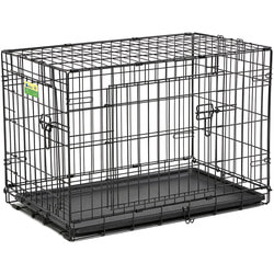 """MidWest Клетка для собак и кошек Contur с двумя дверьми 30"""""""