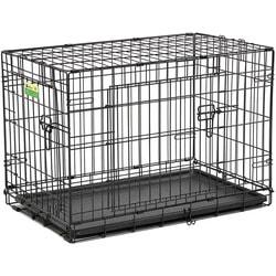 """MidWest Клетка для собак и кошек Contour с двумя дверьми 30"""""""