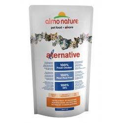 Almo Nature Alternative Корм со свежим цыпленком (55% мяса) для кошек Chicken and Rice