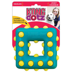Kong Игрушка для собак Dotz квадрат, резина