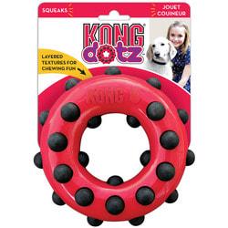Kong Игрушка для собак Dotz кольцо, резина