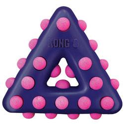 Kong Игрушка для собак Dotz треугольник, резина