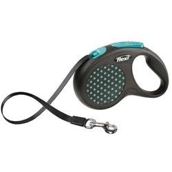 Поводок-рулетка flexi Design M, лента 5 метров, для собак до 25кг