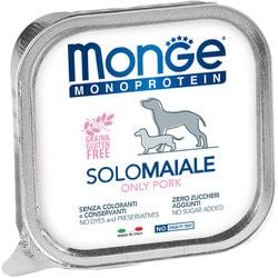 Monge Dog Monoprotein Solo консервы для собак паштет из свинины