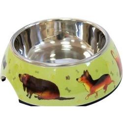 SuperDesign Миска на меламиновой подставке Собачки