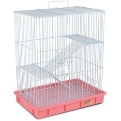 Triol Клетка для мелких грызунов c сеткой на дне, эмаль 55,5*37*64см