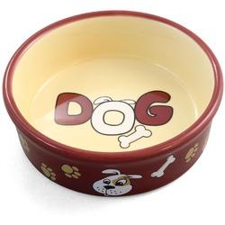 Triol Миска керамическая для собак и щенков Дог 0,25л