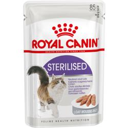 Royal Canin Пауч для стерилизованных кошек Sterilised паштет Мясо