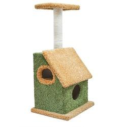 Дарэлл Домик-когтеточка Касса из ковролина для кошек