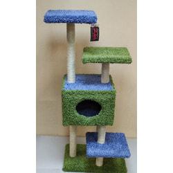 Дарэлл Комплекс с когтеточками Акробат из ковролина для кошек