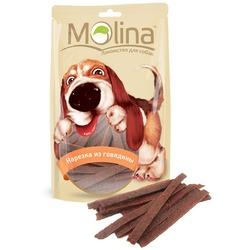 Molina Лакомство для собак Нарезка из говядины