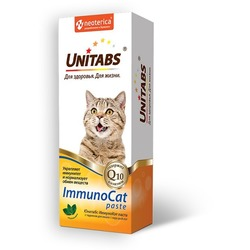 Unitabs ImmunoCat paste Паста для кошек с таурином