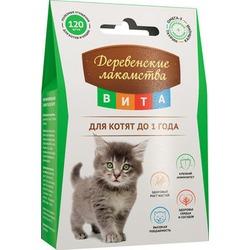 Деревенские лакомства Вита Витаминизированное лакомство для котят до 1 года