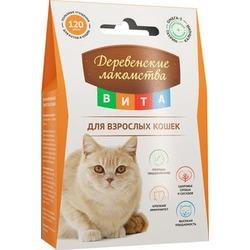 Деревенские лакомства ВИТА Витаминизированное лакомство для взрослых кошек