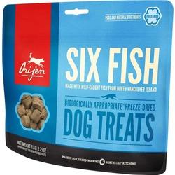 Orijen FD Six Fish Лакомство сублимированное для собак 6 видов Рыбы