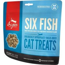 Orijen FD Six Fish Лакомство сублимированное ддя кошек 6 видов Рыбы
