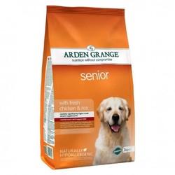 Arden Grange Adult Senior сухой корм для пожилых собак с Курицей и рисом