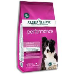 Arden Grange Adult Performance сухой корм для активных собак с Курицей и рисом
