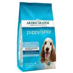Arden Grange Puppy/Junior сухой корм для щенков и молодых собак с Курицей