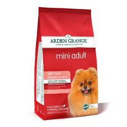 Arden Grange Adult Mini сухой корм для собак мелких пород с Курицей и рисом