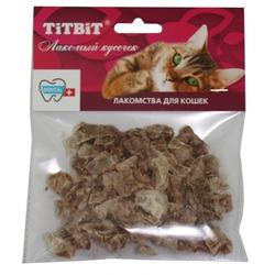 TiTBiT Лакомство для кошек Легкое говяжье мягкая упаковка