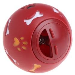Антицарапки Игрушка для собак Пластиковый мяч с регулируемым отверстием под лакомства
