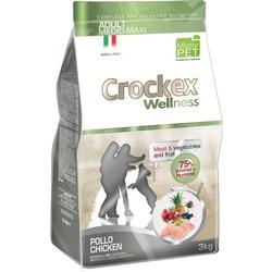Crockex Wellness Сухой корм для собак средних и крупных пород курица с рисом