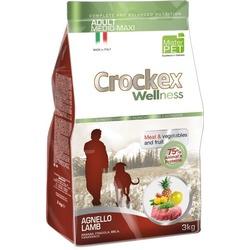 Crockex Wellness Сухой корм для собак средних и крупных пород ягненок с рисом