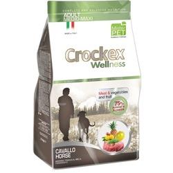 Crockex Wellness Сухой корм для собак средних и крупных пород конина с рисом