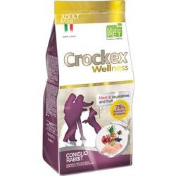 Crockex Wellness Сухой корм для собак мелких пород кролик с рисом