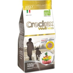 Crockex Wellness Сухой корм для собак мелких пород конина с рисом