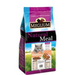 Meglium Сухой корм для привередливых кошек курица индейка