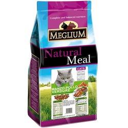 Meglium Сухой корм для кошек говядина курица овощи