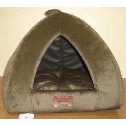 4 My Pets Домик Пирамида коричневый плюш