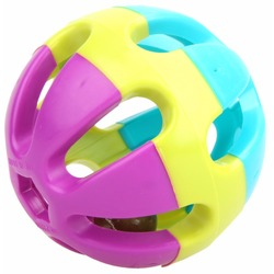 Smartpet Игрушка для животных пластиковый мяч с бубенчиком