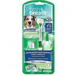 Tropiclean Отбеливающий набор для ухода за зубами для собак Свежее дыхание