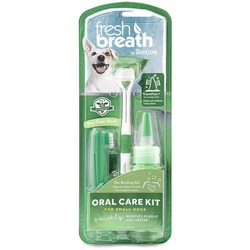 Tropiclean Набор для ухода за зубами для собак Свежее дыхание