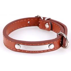 Smartpet Ошейник для собак однотонный коричневый