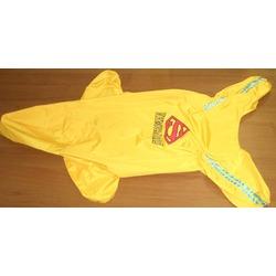 Smartpet Непромокаемый дождевик для крупных собак Супермен унисекс с капюшоном