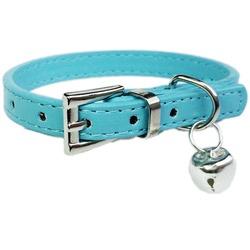 Smartpet Ошейник для собак и кошек Однотонный с бубенчиком Голубой