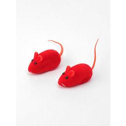 Антицарапки Игрушка для кошек Мышь бархатная с пищалкой