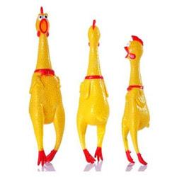 Антицарапки Игрушка для собак Орущая Курица