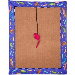 Антицарапки Когтеточка-коврик для кошек из ковролина