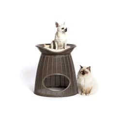 BAMA PET Домик для кошек Pasha 52х60х46/55h см, с подушечками