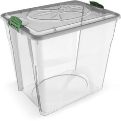 BAMA PET Контейнер для хранения корма Sim Box 32л прозрачный