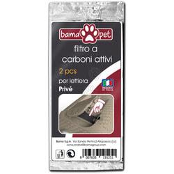 BAMA PET Угольный фильтр для туалета PRIVE